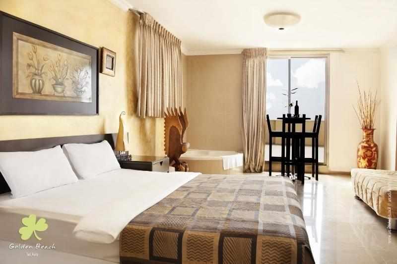חדר זוגי מלון גולדן ביץ'