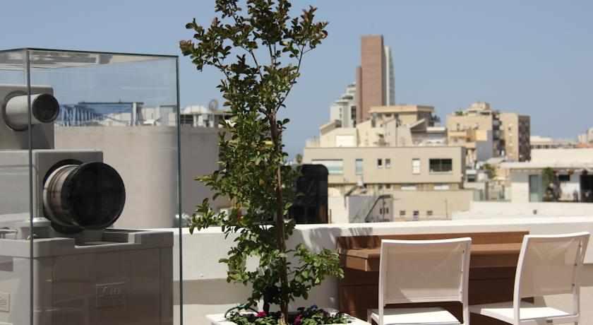 נופי תל אביב ממלון סינמה