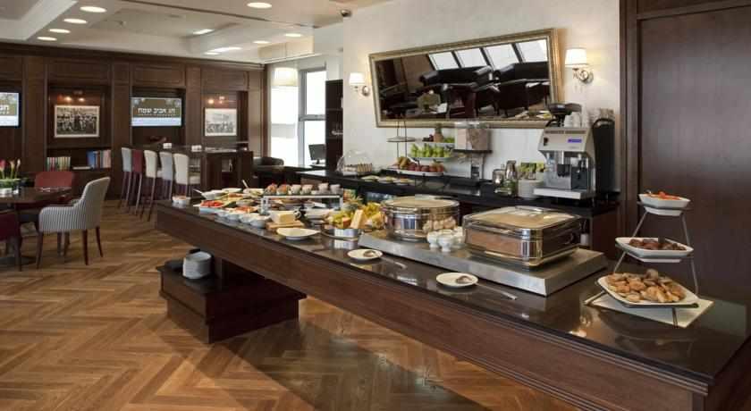 ארוחת בוקר מלון כפר המכביה