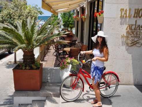 אופניים להשכרה מלון טל
